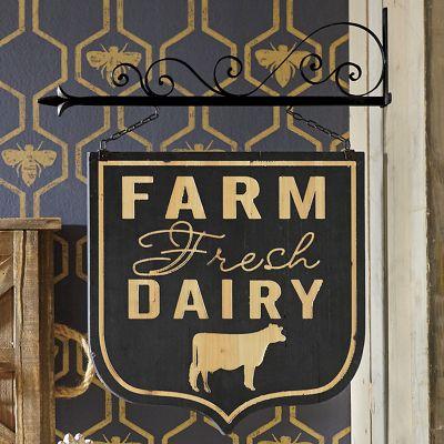 Wall-Mount Farm Sign