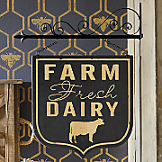 wall mount farm sign