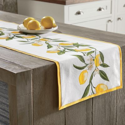 Lemon Table Runner