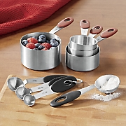 Stainless Steel Measuring Cups and Spoons by Oneida