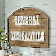 Mercantile Plaque