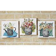 3 Pc Mini Canvas Set