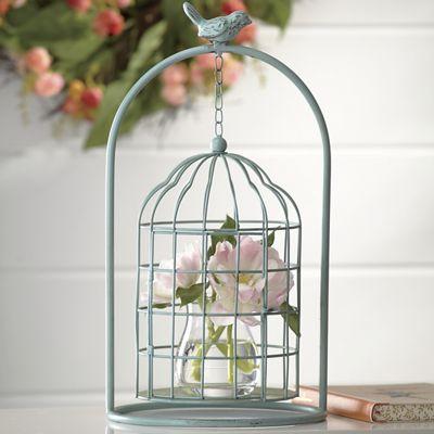Birdcage Cloche