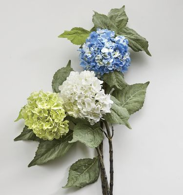 Set of 2 Hydrangea Stems