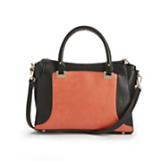 victoria two toned satchel