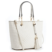 Quilted Accent Tote