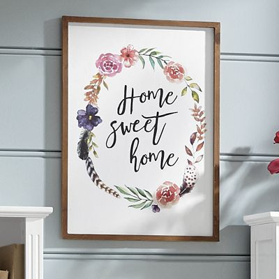 Home Sweet Home Art