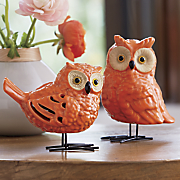 set of 2 owls