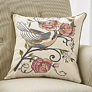 Hawthorn Embroidered Pillow