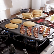 Cast Iron Double-Burner Reversible Grill/Griddle by Emeril
