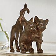 cat friends figurine