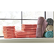 set of 2 luxury hybrid bath towels