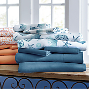 seaview 2 pack microfiber sheet set