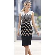 chevron sheath dress 5