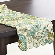 Adrienne Meadow Valance, Runner and Placemat Set