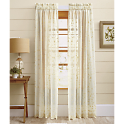 grandeur embroidered window treatments