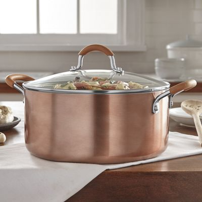 5-Qt. Ceramic Nonstick Aluminum Dutch Oven with Lid by Ginny's
