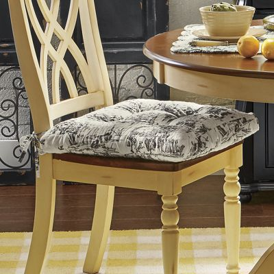 Attirant Classic Toile Chair Cushion