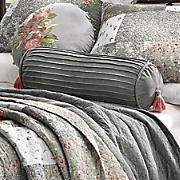 floribunda embroidered round pillow by jessica simpson