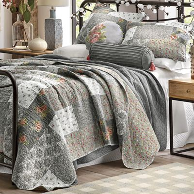 Floribunda Quilt Accent Pillows And Sham By Jessica Simpson