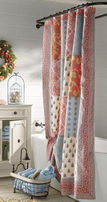 Indian Sunrise Shower Curtain