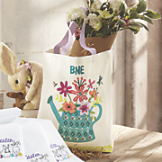 Garden Party Personalized Tote