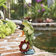fishing frog solar light