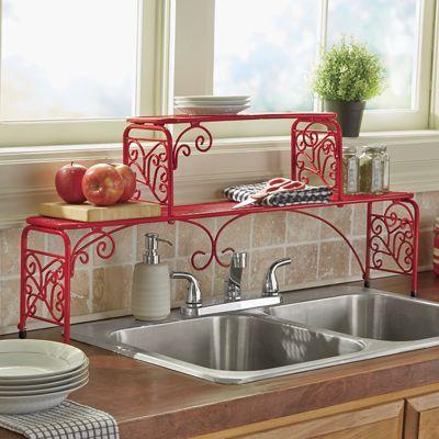 Scroll Kitchen Sink Shelf