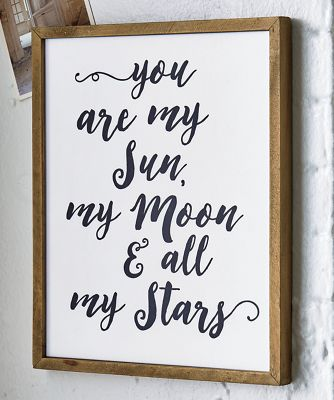 You Are My Sun and Moon