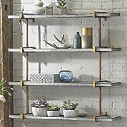 Galvanized Shelf