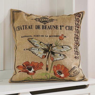 Chateau De Beaune Pillow