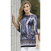 print pocket tunic 41