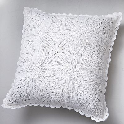 Crocheted Lace Pillow