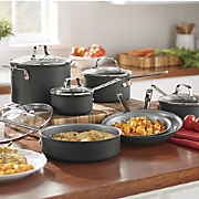 Hard-Anodized Nonstick Cooware Set by Emeril