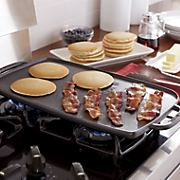 Hard-Anodized Double-Burner Griddle by Emeril