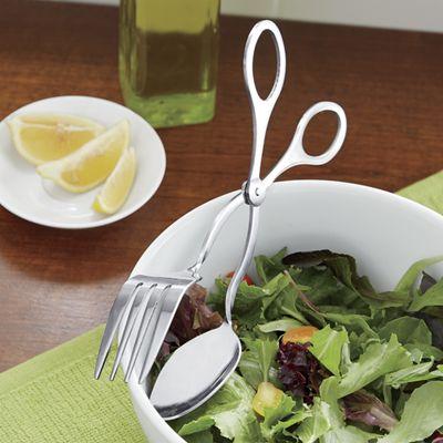 Prepworks<sup class='mark'>&reg;</sup> Stainless Steel Salad Tongs by Progressive