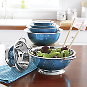 Stainless Steel Mixing Bowl & Colander Set