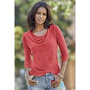 caroline crossover sweater