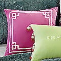 Boho Garden Pink Accent Pillow by Jessica Simpson