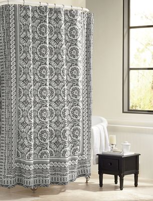 Mosaic Shower Curtain by Jessica Simpson