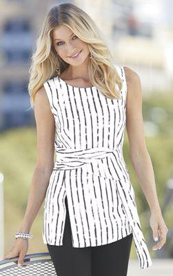 Mila Striped Tunic