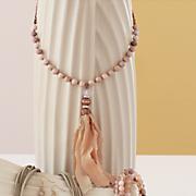 rosetone long pendant