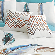 dream feathers accent pillow