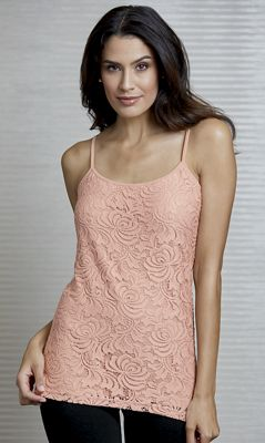 Lace-Front Camisole