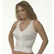 front close long line bra