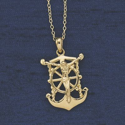 Anchor/Crucifix Pendant