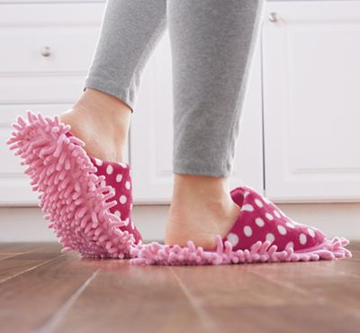 Quick-Clean Slippers by Fuller Brush