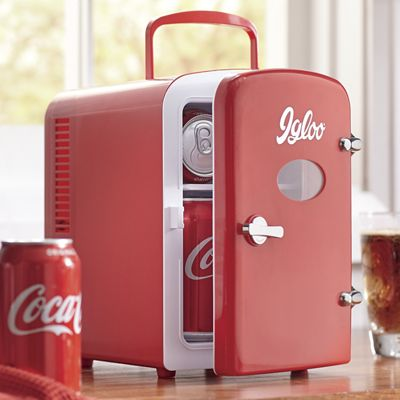 6-Can Retro Mini Fridge by Igloo