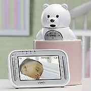 fixed teddy bear video monitor by vtech