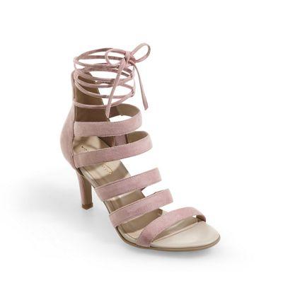 Strappy Lace-Up Sandal by Midnight Velvet